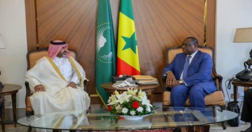 Senegal President meets Qatar Envoy