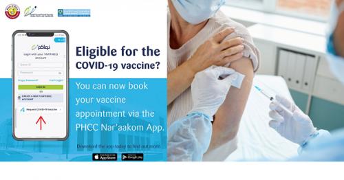COVID-19 Vaccine, COVID-19 Vaccine Qatar, COVID-19, PHCC