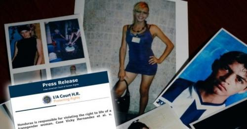 Vicky Hernández: Court says Honduras to blame for trans woman's murder