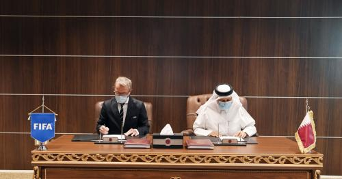 SSOC and FIFA sign Qatar 2022 Security Concept of Operations