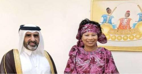 Senegal Foreign Minister meets Qatar Envoy