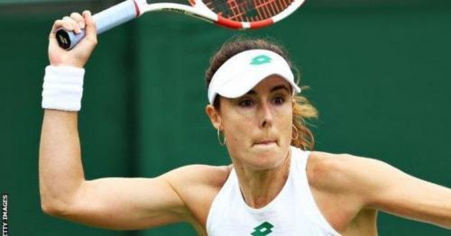Wimbledon 2021: Fifth seed Bianca Andreescu beaten by Alize Cornet