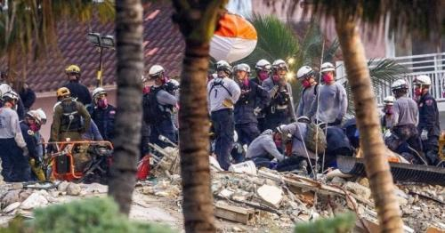 Miami building collapse: Two dead children found in rubble