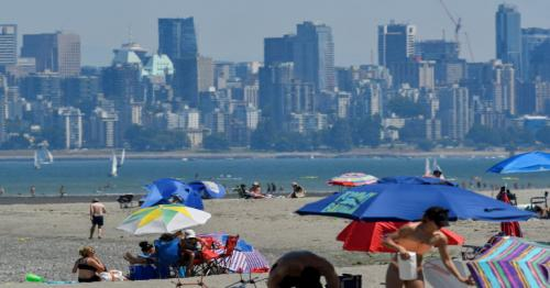 Record Breaking Heat Dome Parks Over British Columbia
