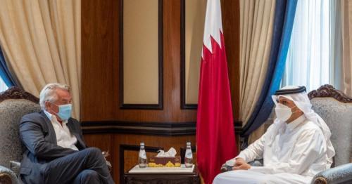 FM meets UN Special Coordinator for Middle East peace process