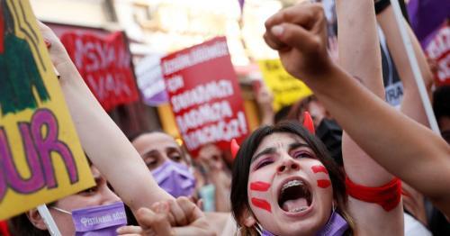 Women protest as Turkey quits violence-on-women treaty
