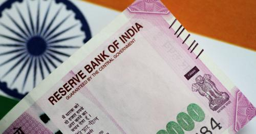 Indian rupee posts biggest monthly fall in 15 months