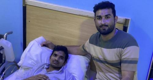 Pakistani expat takes care of paralysed Indian man following suicide attempt