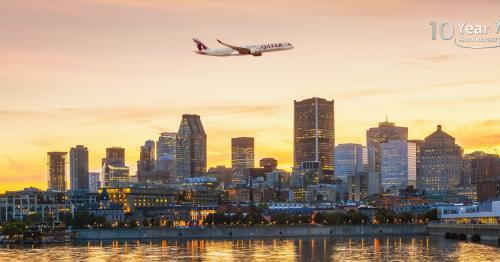 Qatar Airways Celebrates 10 Years Of Flying To Canada