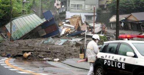 Japan landslide: 20 missing in Atami city