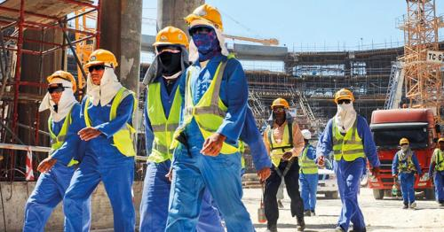 Qatar Labour ministry shuts 232 works sites for violating mid-day work ban