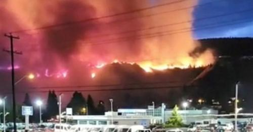 Canada heatwave: Military on standby as lightning triggers more wildfires