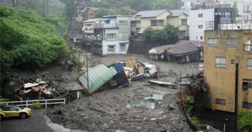 Japan landslide: 20 people missing in Atami city
