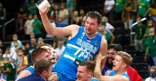 NBA star Doncic leads Slovenia into Tokyo Olympics