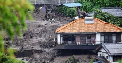 Japan landslide: Elderly couple among survivors pulled from buried homes