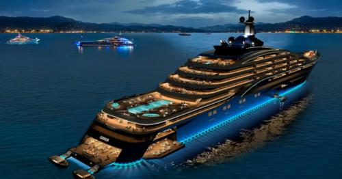 World's first 'yacht liner' unveiled