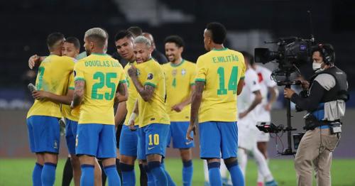 Brazil beat Peru 1-0 to move into Copa America final