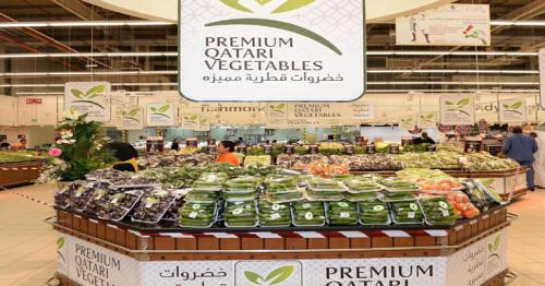 760 tonnes of local vegetables through 'Distinguished Product' and 'Qatar Farms' sold in June