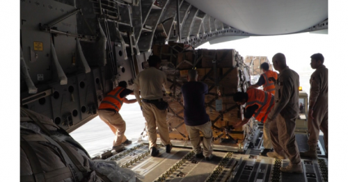 Qatar sends first shipment of food aid to Lebanese Army