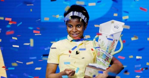Zaila Avant-garde: Teenager makes history at US spelling bee