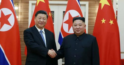 Leaders of N.Korea, China vow greater cooperation in face of foreign hostility