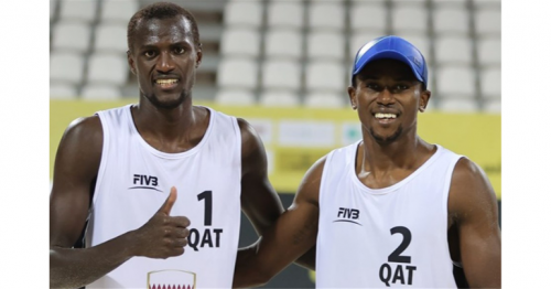 Qatari Beach Volleyball Duo Win Gstaad's Silver Medal