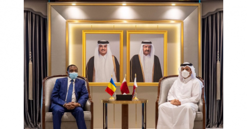 Foreign Minister meets Chad's Foreign Minister