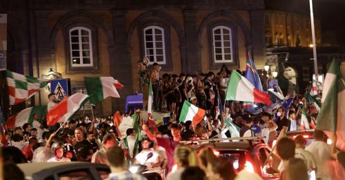 Italy erupts in celebration after Euro soccer triumph