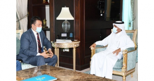 Secretary-General of Ministry of Foreign Affairs meets Director-General of IOFS