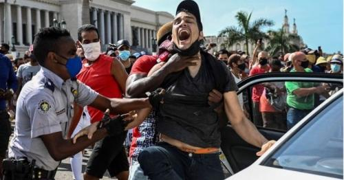 Cuba protests: Arrests after thousands rally against government