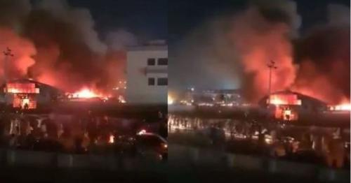 Iraq: Hospital fire in Covid ward kills dozens