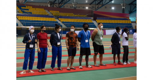 Olympic Refugee Team Training Camp in Doha Concluded