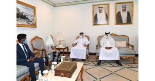 State Minister for Foreign Affairs meets Ethiopia's Ambassador to Qatar
